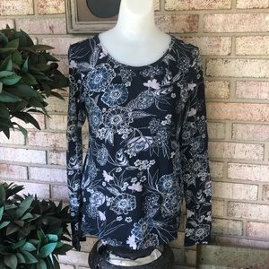 LOFT Outlet Long Sleeve Tee Shirt Size S